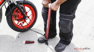 Mrf Tyre Pressure Chart How To Check Tyre Pressure Maintenance Tips From Bike