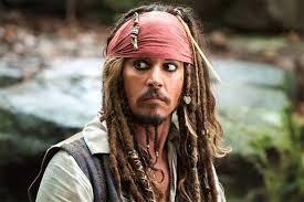 johnny depp dresses up as jack sparrow surprises pirates riders at disneyland videos