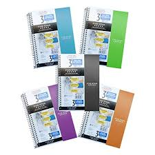 Mead Five Star 3 Subject Wirebound Notebook Graph Ruled 150 Sheet