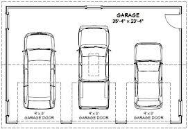 II 4 Car Garage Plans4 Car Garage Size