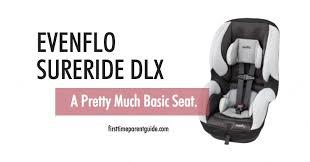 the evenflo sureride dlx car seat