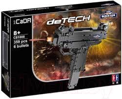 <b>CaDa Пистолет</b>-<b>пулемет</b> / C81008W (307эл) <b>Конструктор</b> купить ...