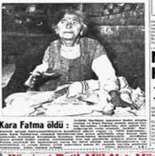 KARA FATMA ile ilgili görsel sonucu