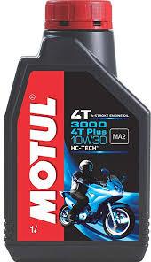 Motul 3000 4t Plus 10w30 Engine Oil For Bikes 1 L
