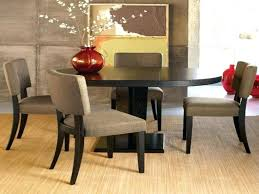 modern round dining tables dining room lovely modern wooden round dining table set with contemporary chairs