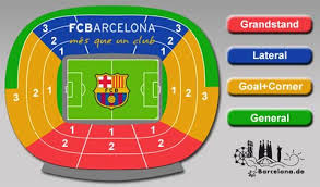 Fc Barcelona Seating Chart Book Your Tickets For Home Games Of The Fc Barcelona