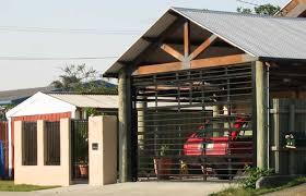 garage doors panel type door bar panel door