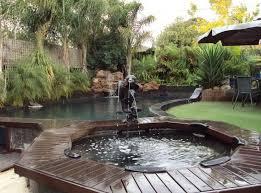 Pool Backyard Design Ideas Stunning Pool Spa Design Ideas Hipages Is A Renovation Resource And Online