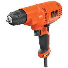 shop corded drills at lowes com black decker 5 2 amp 3 8 in corded drills
