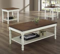 ... Rectangle Wood Antique White Coffee Table Designs Ideas With Storage  Shelf: antique white ...
