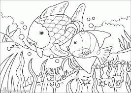 De Mooiste Vis Van De Zee Kleurplaten 5 Het Mooiste Visje Van De