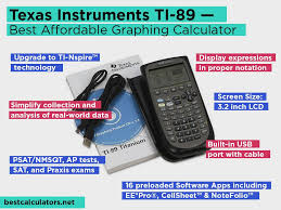 texas instruments ti 89 review pros and cons check our best affordable graphing