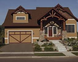 brown exterior paint color schemesHow to Coordinate Colors for your Outdoor Home  Freshomecom