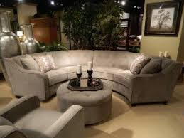 Rounded sectional sofa 3
