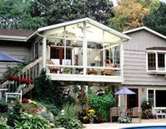 betterliving sunrooms builds right on top your deck or patio even second and third story decks call betterliving sunrooms at to learn more