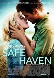 nicholas sparks films safe haven