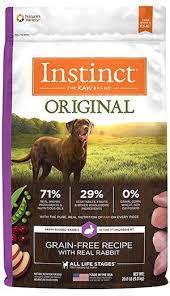 nature s variety instinct original grain free recipe natural dry dog food