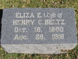 "Elizabeth Esther ""Eliza"" Kirkpatrick Beltz (1850-1916) - Find A ..."