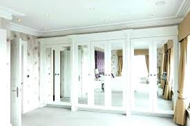 mirror doors for closet sliding bedrooms fantastic decorating mirrored bifold cana closet doors mirrored