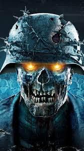 Skull wallpaper, Zombie wallpaper