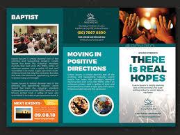 Electronic Brochure Template 10 Popular Church Brochure Templates Design Free Psd