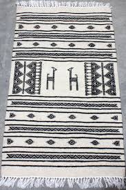 rug tunisian tribal print 2x3