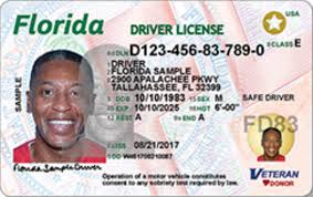 A Gets Florida Look License Driver's New
