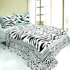 black and white animal print bedding white bedding full black white animal zebra print bedding full