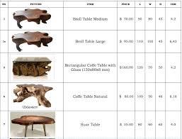 teak root wood furniture indonesia