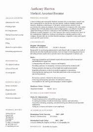 Sample Resume For Medical Assistant Inspiration Medical Office Assistant Resumes Samples Luxury Sample Resume For