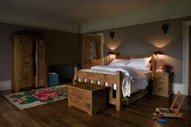 Plank Bedroom Furniture The Grangers Plank Bed Handcrafted By Indigo Furniture