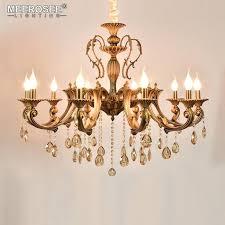 antique copper chandelier heads brass chandelier light fixture antique brass pendant vintage copper crystal lamp lighting