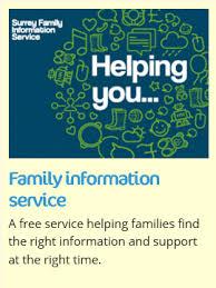 Image result for surrey family information service logo