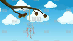 Animated Dream Catcher Animated Dreamcatcher Hanging From A Tree Branch Moving In The 50