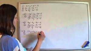 solving 3 equations 3 unknowns method 1 normal elimination