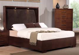 cal king size bed frame. Delighful Size Platform California King Bed Frame With Light Headboard Intended Cal Size L