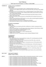 Salesperson Resume Example Salesperson Resume Samples Velvet Jobs 9