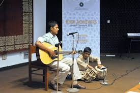 Our very own young percussionist Jamail Ali Khan VIII E and guitarist Basil Ali Khan of X E performed fusion numbers at the AKU-EB award ceremony on ... - AKU-01