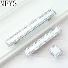 3 inch bling drawer pulls square rhinestone pull glass crystal dresser handles cabinet knobs handle silver 3 inch bling drawer pulls rhinestone crystal