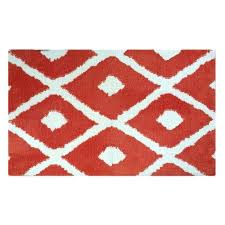 red white diamonds memory foam bath rug mat mohawk