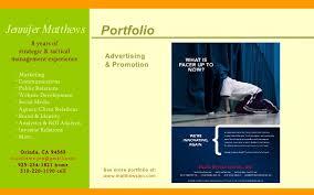 Portfolio Advertising ...