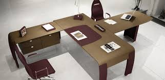italian office desk. leather desk alfa omega codutti italian office f