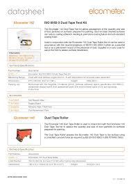 Elocmeter 142 145 Dust Tape Test Kit Allows Assessment Of