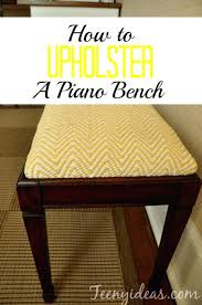 how to upholster a bench today i am going to show you how to upholster a