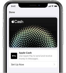 set up apple cash apple support
