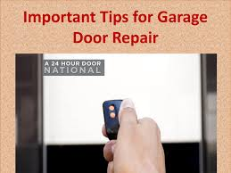 Important tips for garage door repair by A 24 Hour Door National ...