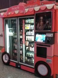 Benefit Vending Machine Enchanting Benefit Cosmetics Vending Machine Yelp