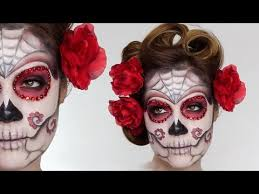 here is my first makeup upload of 2017 an easy mexican sugar skull using supracolor from