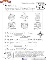 Cardinal Directions Worksheets 3Rd Grade Worksheets for all ...
