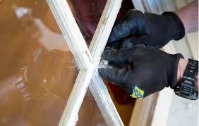 how to replace broken window pane